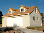 Custom Dormer Style Garage with Loft